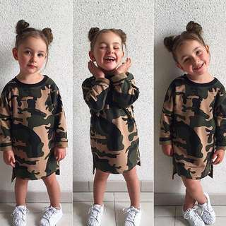 PRE ORDER: Camouflage Dress