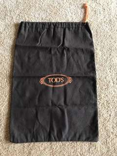 Tods Shoe Bag - cotton