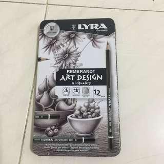 Art Design Pencils