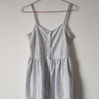Silver Topshop Dress