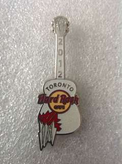 Hard Rock Cafe Pins - TORONTO HOT 2012 ACOUSTIC ICE GUITAR PIN!