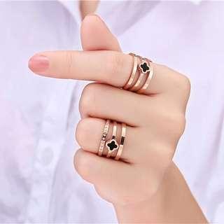 Rose gold rings (PO)