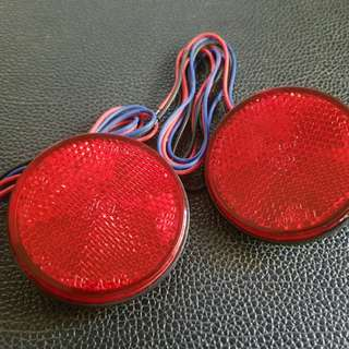 2 Pcs Red LED Light