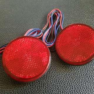 2 Pcs Red LED Light