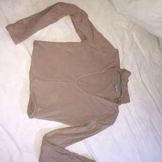Kookai V-cut long sleeve