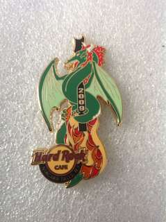 Hard Rock Cafe Pins - NIAGARA FALLS (NY) HOT 2009 FIRE DRAGON GUITAR SERIES # 2!