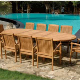 Teak outdoor table chair set $999- $1299 Factory sale