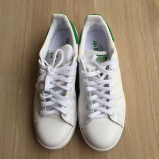 Stan Smith Adidas Ladies (Green)