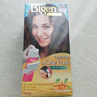 Bigen Hair color DIY (new) Easy use, natural extract