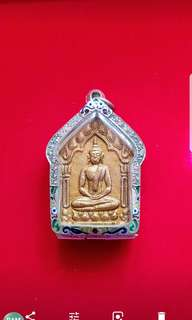 Lp sakorn phra khun paen (wat nong krab ) BE 2546. Very popular Batch. W/Silver casing.
