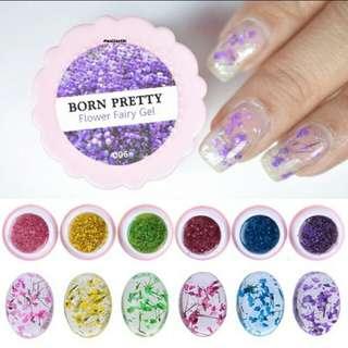 Flower fairy gel box 5g/box. Pink in stock. PO