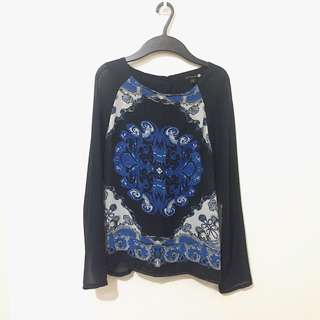 Cotton On Navy Top XS