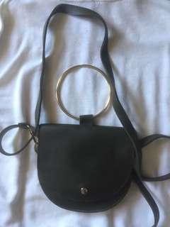 Hijau army sling bag