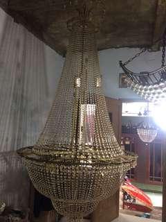 Lampu gantung # lampu cristal # lampu hias #