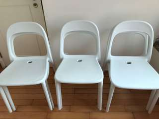 Ikea Urban Chairs x 6 (made in Italy)