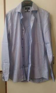 G2000 淺藍色恤衫slim fit