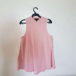 Forever 21 Plus Size Pink Flare Top
