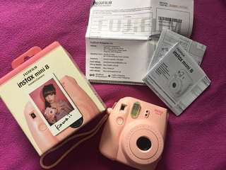 For sale: Pink Instax Mini 8
