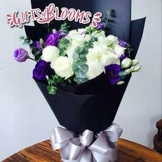 Flower Bouquet∕Hand Bouquet∕Birthday Bouquet∕Anniversary Bouquet∕Proposal Bouquet  - 50DD9     76