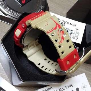 Authentic Casio G-Shock GA-110CS-4ADR G Shock sports watch aka IRONMAN