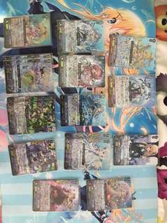 Cardfight!! Vanguard Clan Booster 07 Foils for Sale(Repost)
