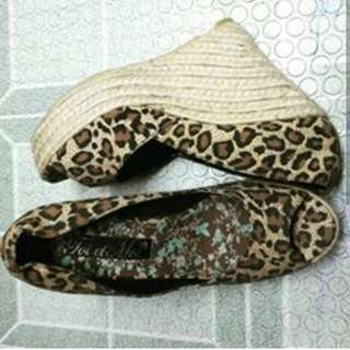Espadrille Wedge 8 to 9