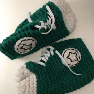 Knitted Converse Slippers