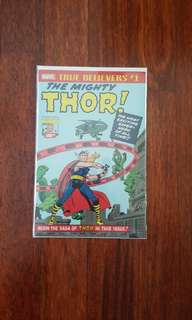 True believers #1 the mighty thor