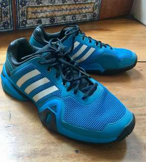 Adidas Barricade 8 Tennis Shoes US 10.5