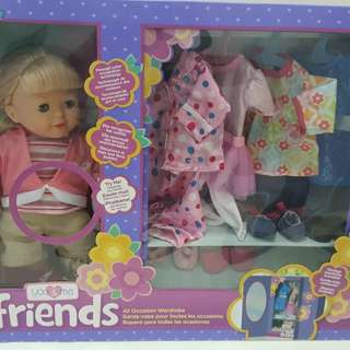 You and me friends interactive doll