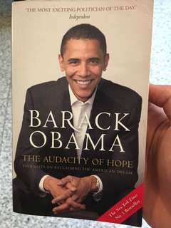 Barack Obama - audacity of hope