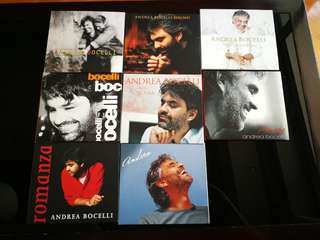 Andrea Bocelli, the Complete Pop Albums, Remastered