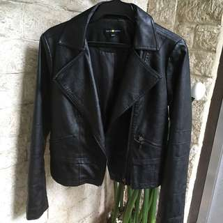 Cache Cache Leather Jacket