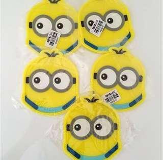 NEW Hello Kitty Minion coasters