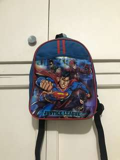 Justice League Small Bag for your Boys (pre schoolers)