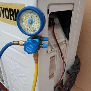 Aircond Service / Gas refill