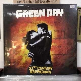 Greenday Vinyl Record