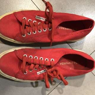 REPRICED: Red 2750 Superga size 42