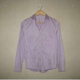 Purple Buttondown