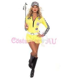 Race Car Girl costume