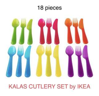 Ready Stock IKEA KALAS CUTLERY SET