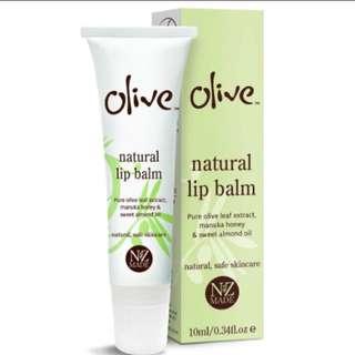 Olive Lip Balm 10ml