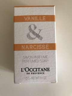 Loccitane Vanilla & Narcisse bar soap