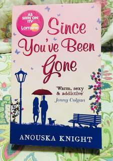 English novel- SINCE YOU'VE BEEN GONE