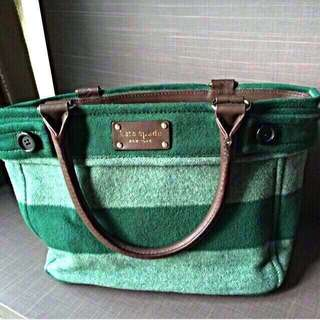 02a31ae42c96 🔥(#Easter20) Authentic Kate Spade Green Tote Bag