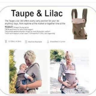 ErgoBaby Carrier 360/ergobaby 360 carrier/authentic/360 baby carrier/100%authtic