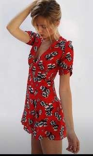 Realisation Par XS The Ozzie Pansy Dress