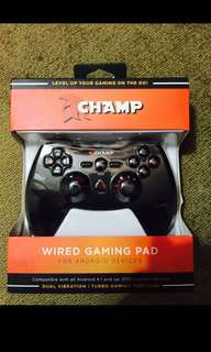 Champ wired phone game controller