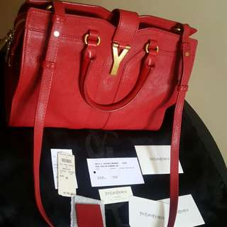Authentic YSL mini cabas chyc