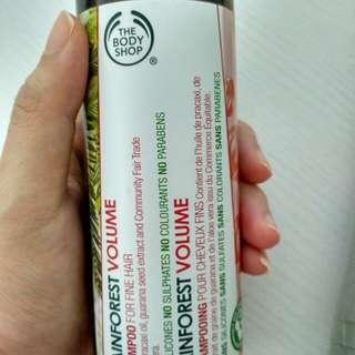 Rain forest volume shampoo